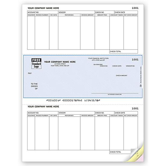 [Image: Laser Checks, Accounts Payable, Compatible With RealWorld]