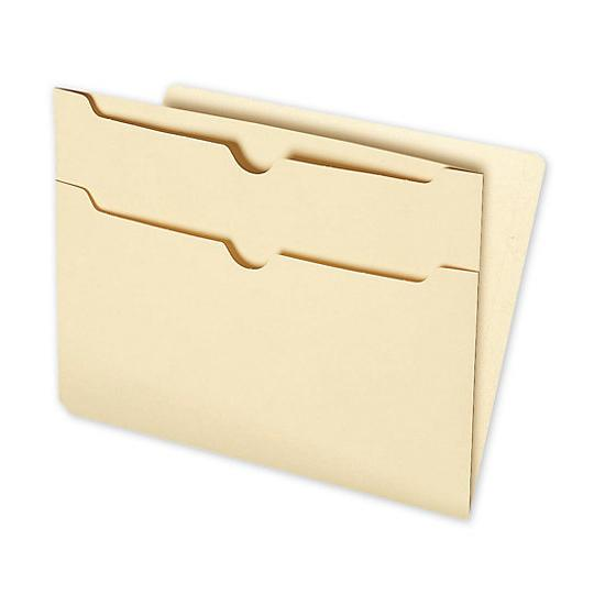 [Image: End-Tab Folders With Two Pockets On Back, 11pt]