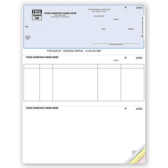 [Image: Laser Top Accounts Payable Check]