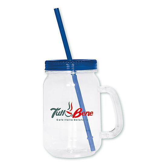 [Image: Country Mason Jar Sipper - Personalized]