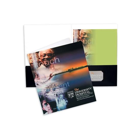 [Image: Oversize Two Presentation Pocket Folder]