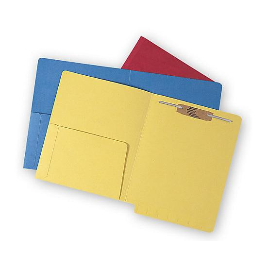 [Image: Colored Half Pocket Folder]