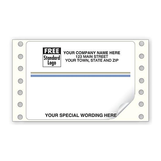[Image: Continuous Return Address Mailing Label 4 X 2 7/8]