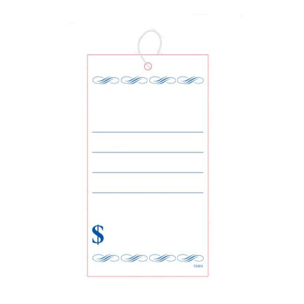 [Image: Blank Sale Tag with Lines]
