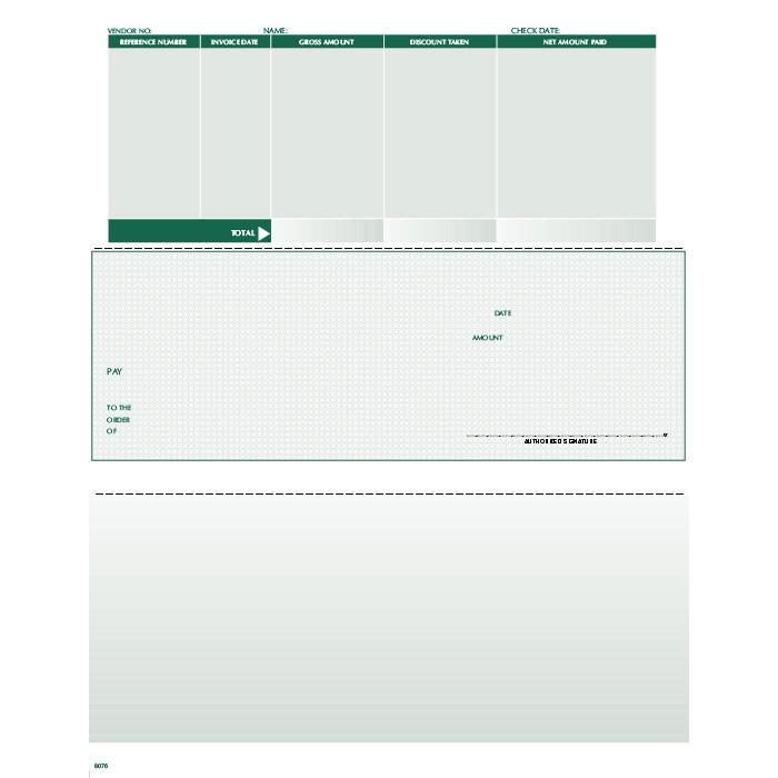 [Image: F8076 - Laser Accounts Payable Check]