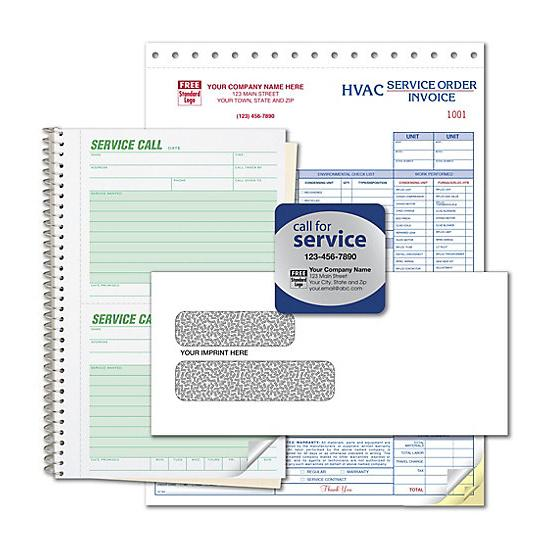 [Image: HVAC Service Forms - New Business Start Up Kit]