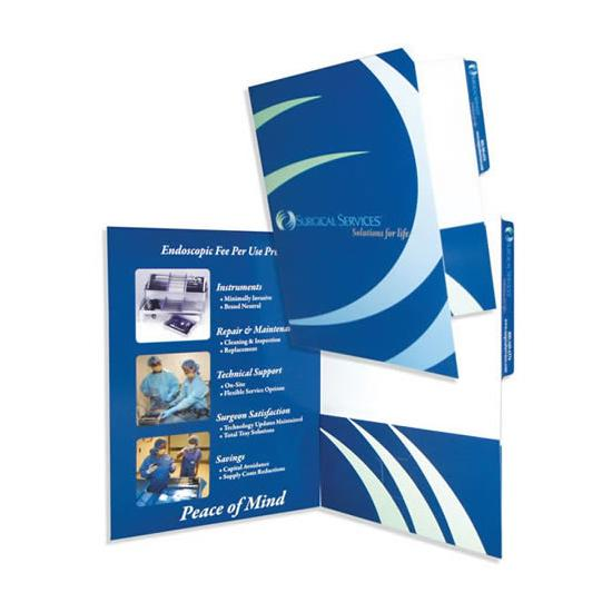 [Image: Right Pocket Presentation File Folder]