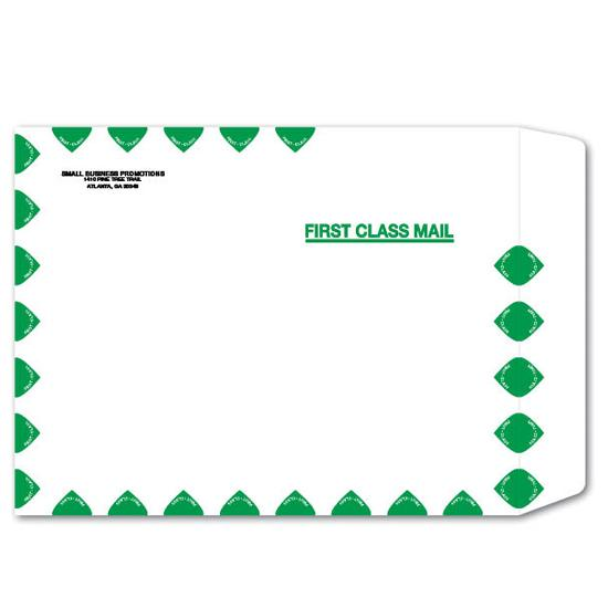 [Image: Tyvek First Class Mailing Envelope with Return Address]