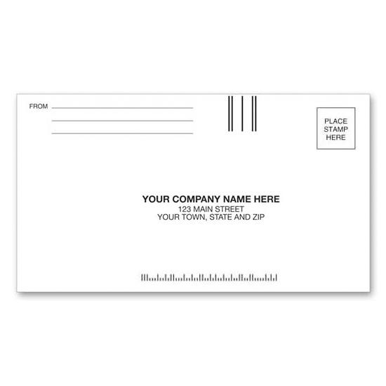 "[Image: 3 5/8 x 6 1/2 Custom Printed Envelopes | #6 3/4"" Regular Business Reply]"