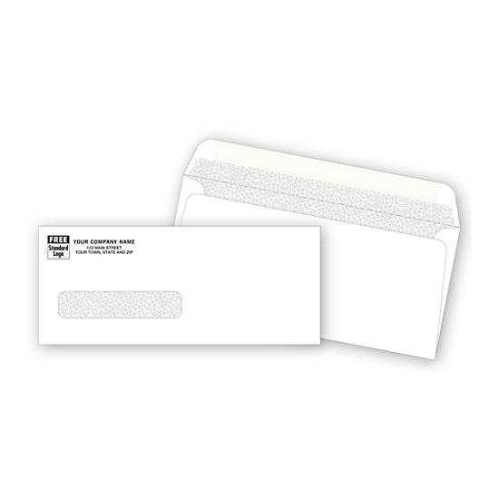 [Image: Single Window Confidential Check Envelope]