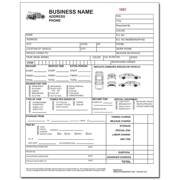 towing invoice template - resume templates 2017, Invoice examples
