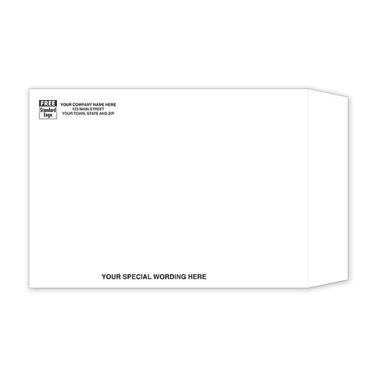 [Image: White Catalog Envelope]