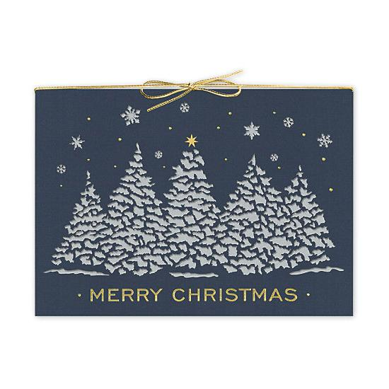[Image: Twilight Shine Laser Cut Christmas Cards]