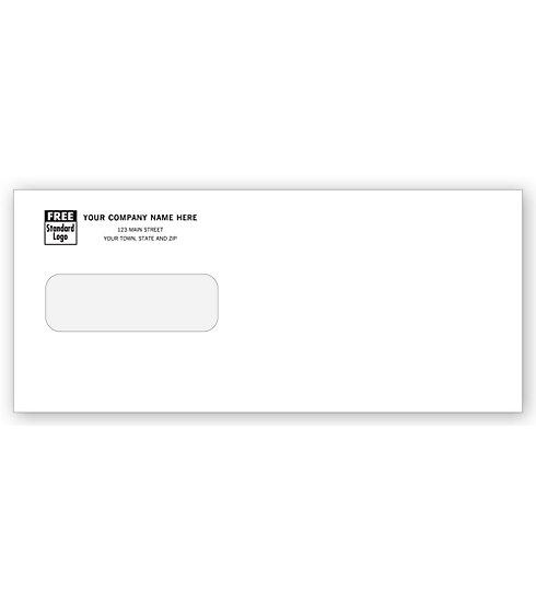 [Image: Standard Single Window Envelope]
