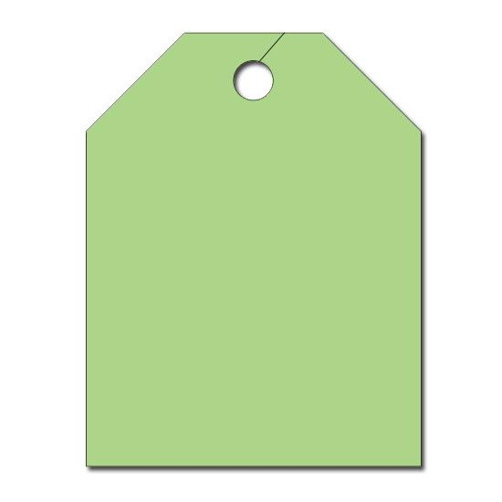 [Image: Automotive Large Blank Tag]