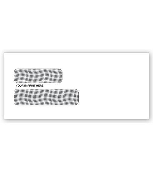 [Image: Double Window Confidential Envelope - No Addressing]
