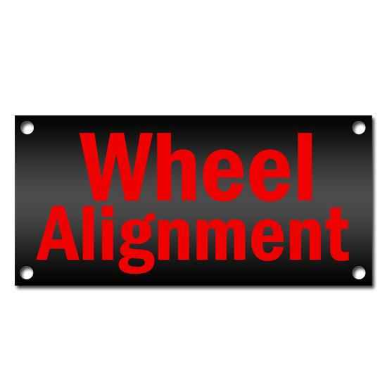 [Image: Wheel Alignment Vinyl Banner]