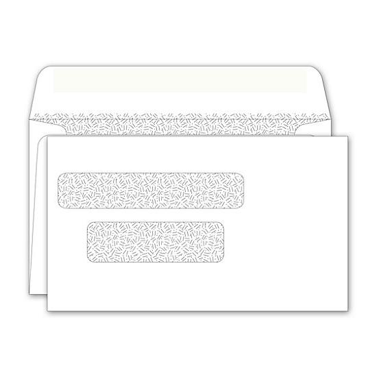 Double window envelope 3 9 16 x 6 1 8 designsnprint for Double window envelope template