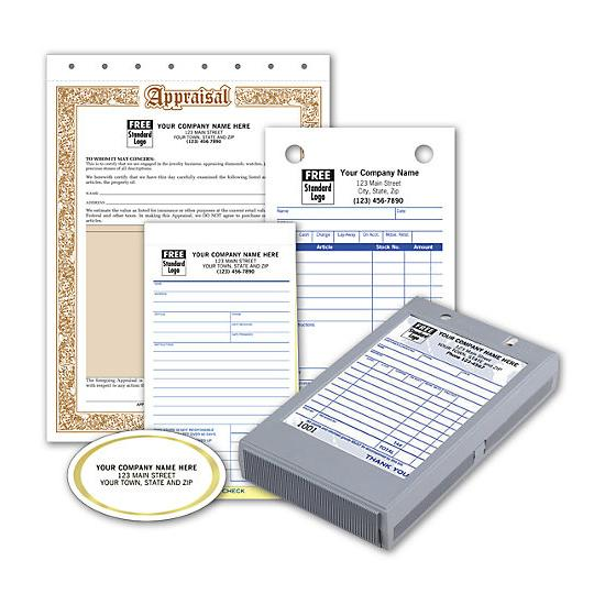 [Image: Jewelry Forms - Business Starter Kit]