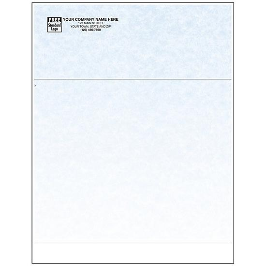 [Image: Laser Multipurpose Invoice Form - Parchment, Personalized]