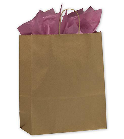 [Image: Kraft Paper Shoppers Escort Bags]
