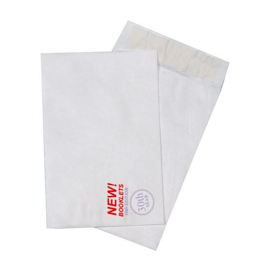 [Image: Custom Printed Tyvek Envelopes - 6 x 9 Catalog]