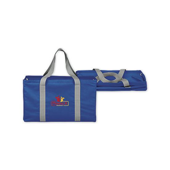[Image: Chevron Oversized Carry-all Tote Bag - Personalized]