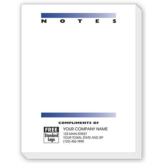 [Image: Small Personalized Notepad]