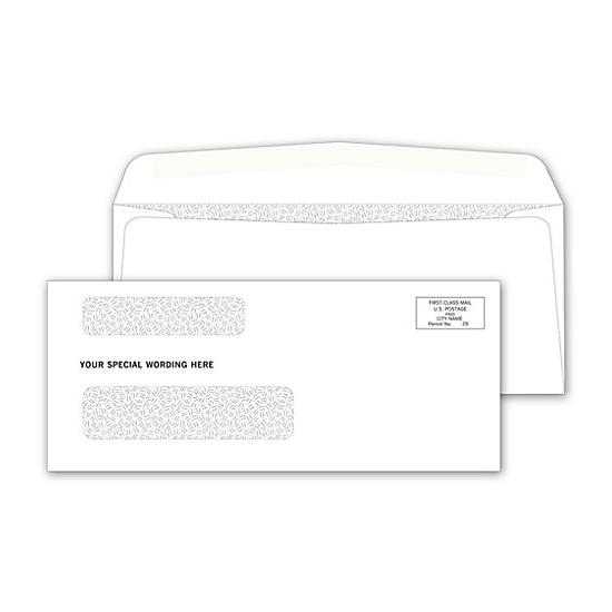 [Image: Double Window Confidential Check Envelope]