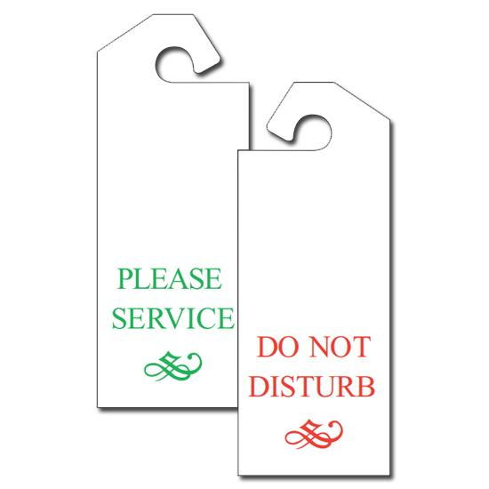 [Image: Door Hanger Hang Tag]