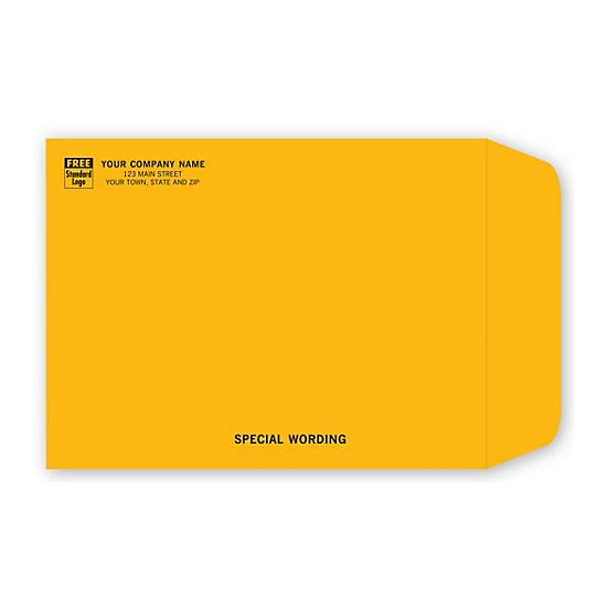 [Image: Brown Kraft Mailing Catalog Envelope 9 x 12]