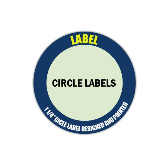 "[Image: 1 1/4"" Circle Label - Personalized & Custom Printed]"