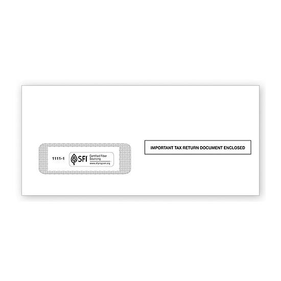 [Image: 2017 1099 Single-Window Envelope]