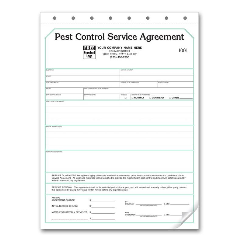 [Image: PEST CONTROL CONTRACT SERVICE AGREEMENT]