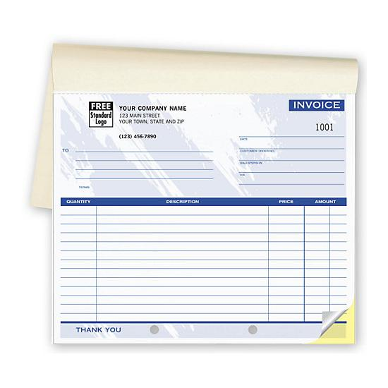 [Image: Carbon Copy Invoice Book]