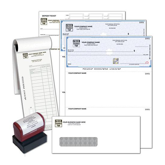 [Image: High Security Starter Kit, Laser Checks, Quickbook]