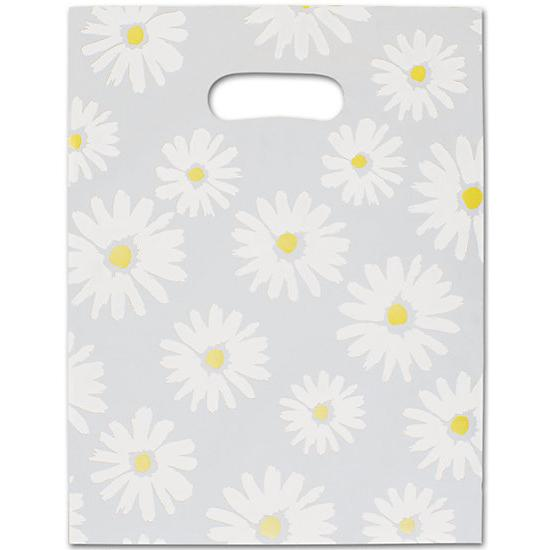 [Image: Daisy Frosted High Density Merchandise Bags]