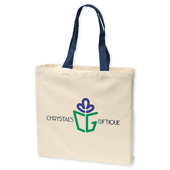 [Image: Give-Away Tote - 6 Oz. Cotton - Personalized]