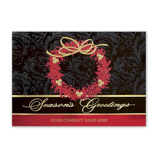 [Image: Berry Elegance Holiday Cards]