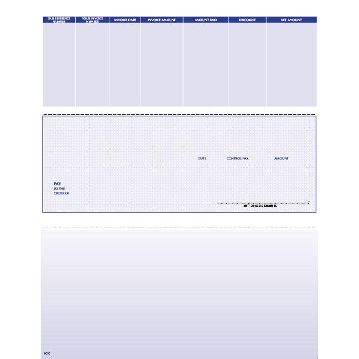 [Image: F8030LTD - Laser Accounts Payable Check]