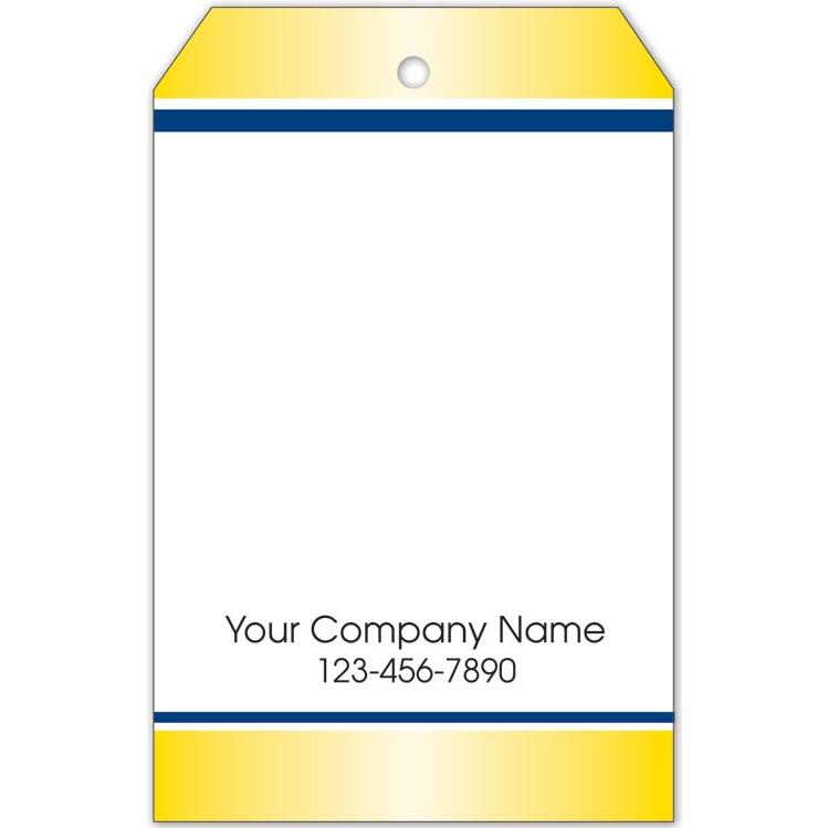 [Image: Blank Price Tag Navy and Gold Border]