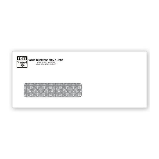 [Image: Single Window Confidential Envelope - Size 8 3/4 X 3 5/8]