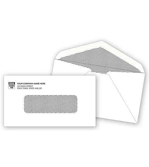 [Image: Single Window Envelope Imprinted]