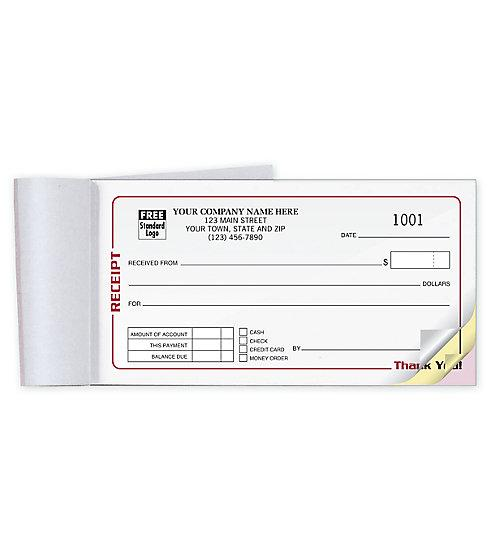 [Image: Receipt Books With Business Name]