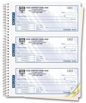[Image: 693T, Cash Receipt Books, Colors Design, 3 To Page]