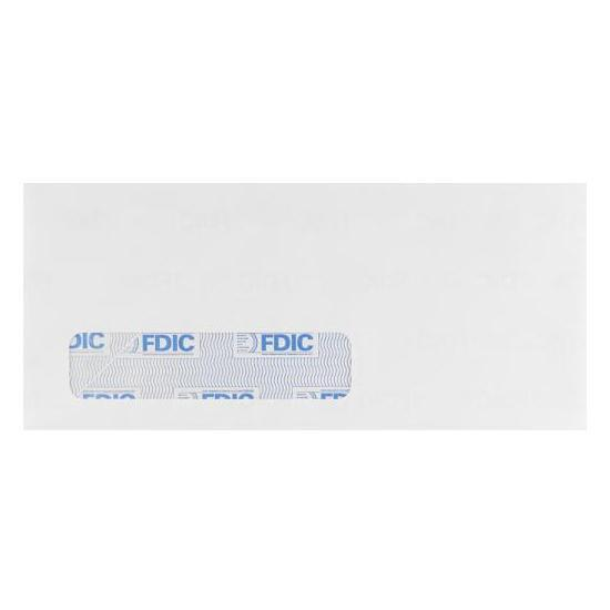 [Image: #7 3/4 Special Window FDIC Tint Envelope (3 7/8 x 7 1/2) - Printed]