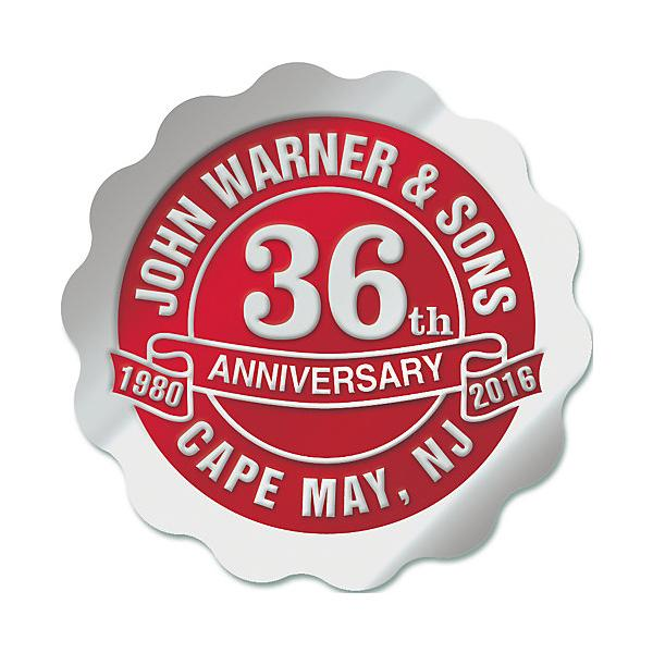 [Image: Personalized Anniversary Seal Rolls SE-02]