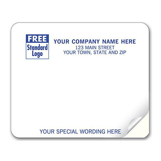 [Image: Shipping Label - Return Address Label - White]
