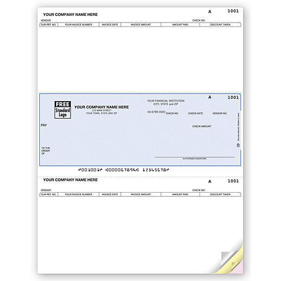 [Image: Juris Laser Middle Accounts Payable Check DLM228]