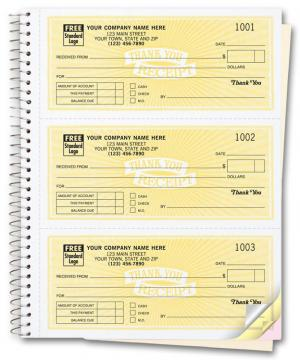 [Image: 693, Cash Receipt Books, Classic Design, 3 To Page]